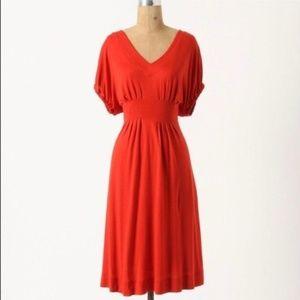 Anthropologie Deletta NWT Back Porch Dress S